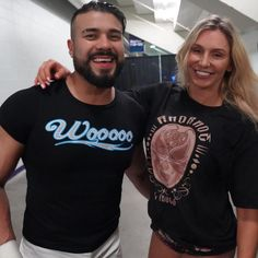Andrade and Charlotte💓 Charlotte Wwe, Charlotte Flair, Wwe Couples, Celebrity Couples, Female Wrestlers, Wwe Wrestlers, Wwe Raw And Smackdown, Best Instagram Photos, Wwe Girls