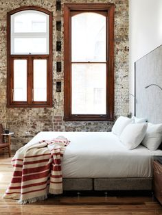 Housed in two heritage listed buildings in Chippendale Sydney, The Old Clare Hotel is a newly opened 62 room boutique hotel … loving themodern, industrial style with a little mid-century twist ~ debra   Dust Jacket on Bloglovin'