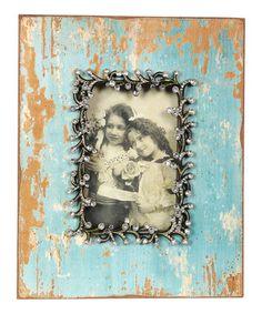 Look at this #zulilyfind! Aqua Rhinestone Frame by Wilco #zulilyfinds