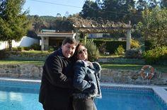 Mañana fresquita junto a la piscina!!! Vamos a dar un paseo hasta el Río Miño, para entrar en calor. blog.carlossanin.com Casa Rural Spa Hijos Dalgo, Crecente, Pontevedra.
