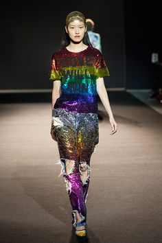 Fashion in Motion: ASHISH, October 2015. l Victoria and Albert Museum