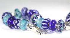 Blue & Turquoise Trollbeads Bracelet