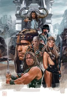 Conan The Barbarian Artwork | 8 Bit Nerds