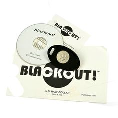Black out (DVD + Gimmick) --Magic Trick Coins exchange magic props Close-Up magic tricks Street stage illusion 81113 #Affiliate