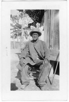 Wes Brady, ex-slave, Marshall, Texas. Forms part of: Portraits of African American ex-slaves from the U.S. Works Progress Administration, Federal Writers' Project slave narratives collections. Date 	4 December 1937
