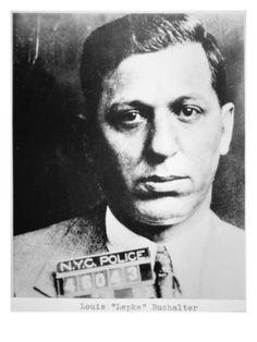 Louie 'Lepke' Buchalter, head of Murder, Inc. in the 1930's.