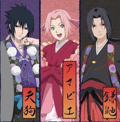 Sasusaku Doujinshi, Narusaku, Sakura And Sasuke, Sakura Haruno, Anime Oc, Naruto Art, Itachi Uchiha, Anime Films, Akatsuki