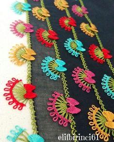 Fiyonklu Kelebek Oyası Yapılışı - Snore Tutorial and Ideas Hand Embroidery Flowers, Embroidery Patterns, Irish Crochet, Double Crochet, Derrick Rose, Knitting Socks, Baby Knitting, Phulkari Embroidery, Indian Embroidery