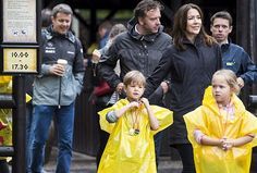 Crown Princess Mary and her Family visits Legoland