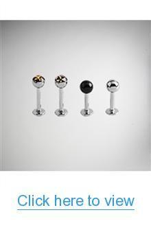 Star Logo Steel Labret 4-Pack #Star #Logo #Steel #Labret #4_Pack