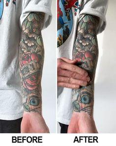 Badass Tattoos, Body Art Tattoos, New Tattoos, Hand Tattoos, Tattoos For Guys, Tattoos For Women, Cool Tattoos, Tatoos, Tattoo Sleeve Designs