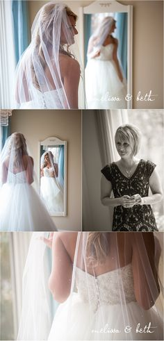 Bride and mom | Dress | Madrid Theatre Wedding | Kansas City Wedding Photographers #melissaandbeth #weddingphotographers #kansascity #wedding #photography #bride #dress
