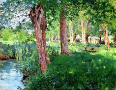 William Blair Bruce (1859-1906)  Giverny  1887