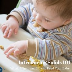 Everything you need to know about introducing your baby to new foods - first food ideas, how often and how much, and different methods you can use!