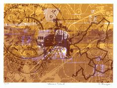 This is an A4 size screenprint and it is in an Edition of 10 prints. It was printed in Nov 2011