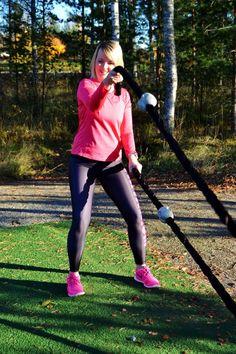 #liikunta #syksy #pink #tritanium