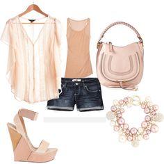 Pale Pink Summer, created by polkadotmummy