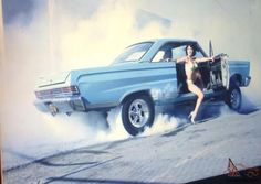 """""""Risky passenger during a Comet burn-out… """" Amc Javelin, Mercury Cars, Old Race Cars, Drag Cars, Modified Cars, Up Girl, Ford Trucks, Drag Racing, Hot Cars"""
