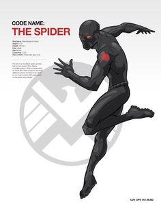 CODENAME: THE SPIDER by AdamLimbert on @DeviantArt