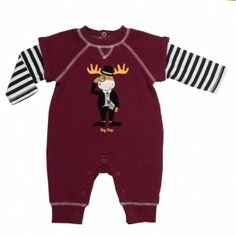 Baby Starter Big Guy Coverall - Prepster Long Sleeve French Terry Coverall - with Big Guy Moose Screened on front. - See more at: http://www.babyandbeyond.ca/product.php?productid=9335&cat=679&page=13#sthash.H5uCKPbs.dpuf