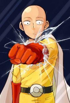 Saitama - One Punch Man.