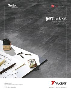 YAKTAŞ Gerflor İlan Tasarımı Graphic Design, Visual Communication