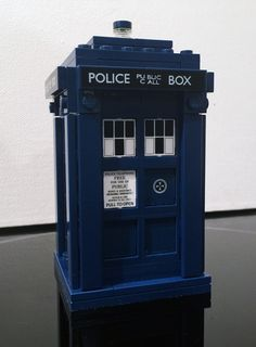 The 623-piece Tardis set originated in Lego's Ideas program.