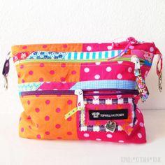 Ordnungshelfer by tophill-kitchen, pattern by farbenmix.de #sewing #handmade #patterns #nähen #taschen #bags #taschenspieler2