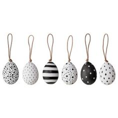 Bloomingville Black and White Easter Egg Decorations eggs black and white Egg Tree Decorations Black/White Happy Easter, Easter Bunny, Easter Eggs, Egg Crafts, Easter Crafts, Easter Tree Decorations, Broderie Simple, Egg Tree, Home Decor Baskets