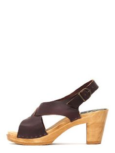 No.6 crossover clog - summer on the brain {go check out their lookbook. jump!} $265    #heels #leather #fashion