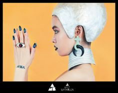 Inspired from the 1973 cult film Holy Mountain, directed by Alejandro Jodorowsky, the progressive Japanese jewelry brand AMBUSH translates the essence of the A Love Supreme, The Holy Mountain, Holly Fulton, Japanese Jewelry, Future Trends, Body Adornment, Zoom Photo, Dark Fashion, Modern Prints