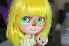 OOAK art custom Icy doll by Rainbowcoton Sunshine by FantasyZone, €380.00