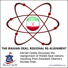 Darrell Castle discusses the realignment of Middle East nations resulting from President Obama's Nuclear Deal.