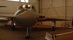 1/3 scale prototype of the Avro Vulcan. Avro 707 WZ744 RAF Museum Cosford 2002.