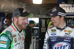 Dale Jr and BK