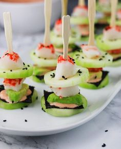 These California Roll Low Carb Sushi Stacks are deliciously refreshing and ready in 10 minutes! www.itscheatdayeveryday.com