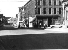 Old shot of Main Street looking west towards the Subway: Main Street, Street View, Old Photos, Cheers, Maine, Shots, Vehicles, Vintage, Old Pictures