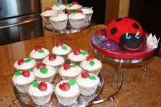 Totally digging this Ladybug Themed party...Karrington's Baby shower was ALL ladybugs and I would love her 3rd birthday to be too!
