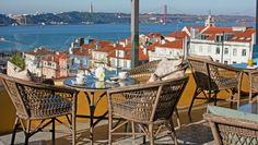 Bairro Alto Hotel: Take in city views from the terrace, ideally with a glass of vinho verde in hand.