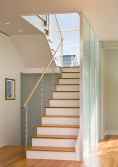 Glass partition and cable rail