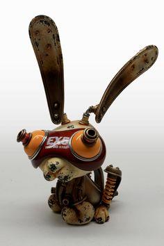 #Rabbit #STEAMPUNK