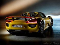 Porsche 918 Spyder 2015 [Фотогалерея]   Новости автомира на dealerON.ru