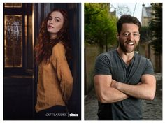Sophie Skelton and Richard Rankin will play Brianna Randall and Roger Wakefield in Outlander