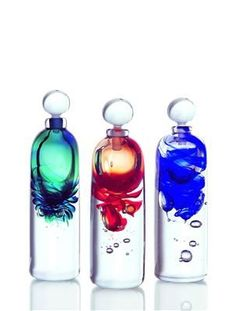 Eclipse botellas de perfume:
