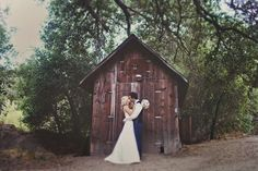Really cute wedding; I like sunflowers, but a little less rustic feel for m