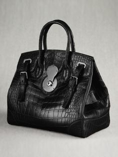 The Alligator Ricky Bag - Collection Accessories The Ricky Bag - RalphLauren.com  New Handbags bc3f573925245