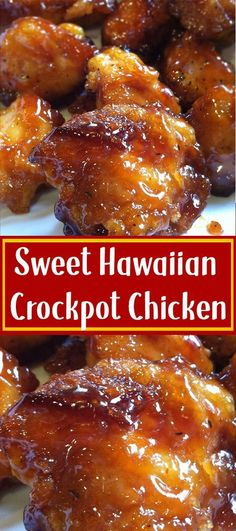 Sweet Hawaiian Crockpot Chicken Recipe Lose this delicious rice . - Sweet Hawaiian Crockpot Chicken Recipe Don& lose this delicious recipe Save it now - Crock Pot Recipes, Crockpot Dishes, Crock Pot Cooking, Slow Cooker Recipes, Cooking Recipes, Crock Pots, Easy Recipes, Crockpot Ideas, Cooking Oil