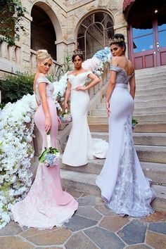 Doll House Bridesmaid Dresses Snow Gown  / http://www.deerpearlflowers.com/bridesmaid-dresses-from-doll-house-bridesmaids/2/