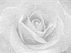 ASCII Rose