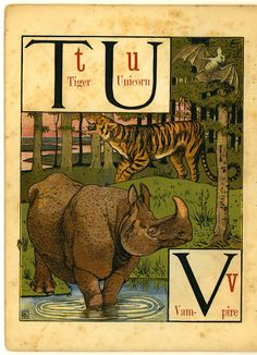 Walter Crane, The Noah's Ark Alphabet, 1871-72